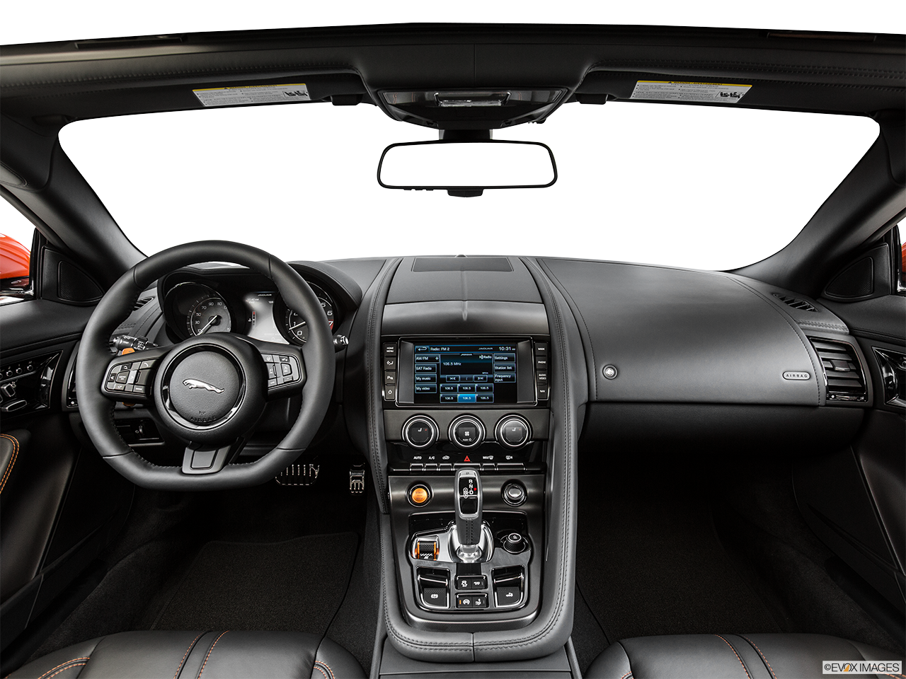 Interior View Of 2015 Jaguar F-Type Convertible in Lake Elsinore