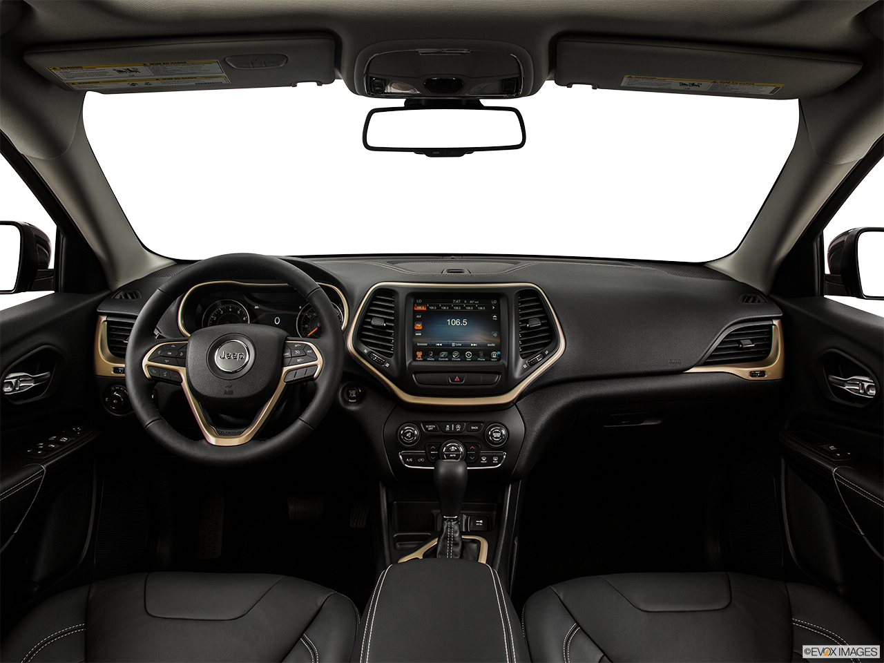 Interior View Of 2015 Jeep Cherokee in Huntington Beach