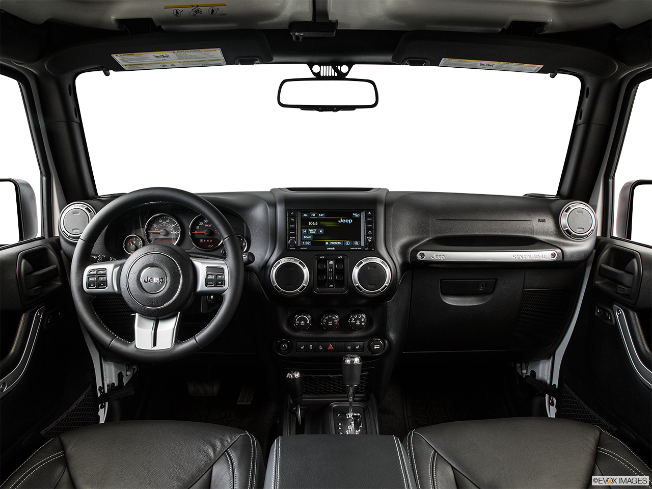 Interior View Of 2015 Jeep Wrangler Unlimited in Huntington Beach