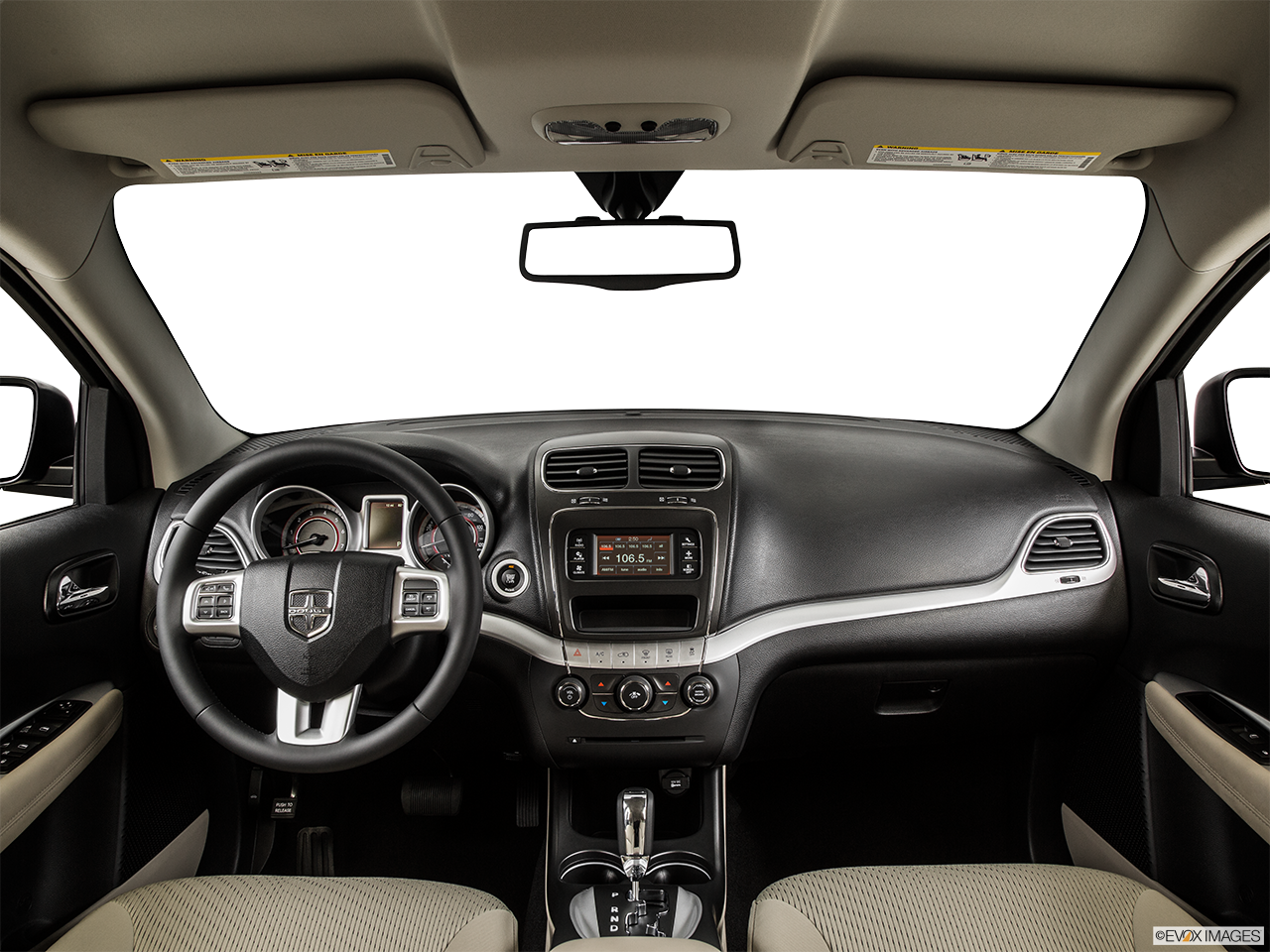 Interior View Of 2015 Dodge Journey in Huntington Beach