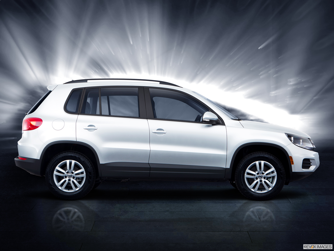 Exterior View Of 2015 Volkswagen Tiguan in Franklin