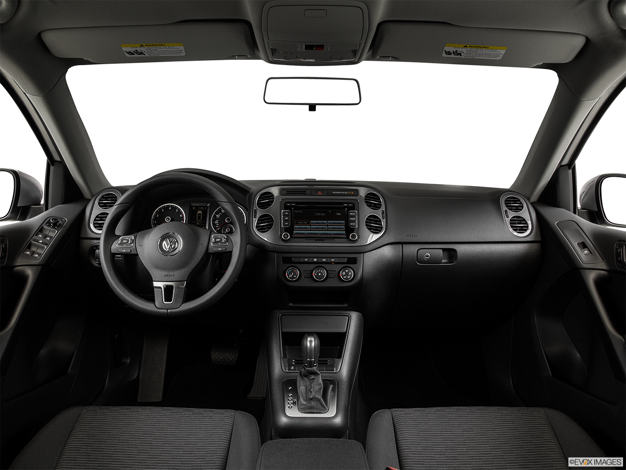 Interior View Of 2015 Volkswagen Tiguan in Franklin