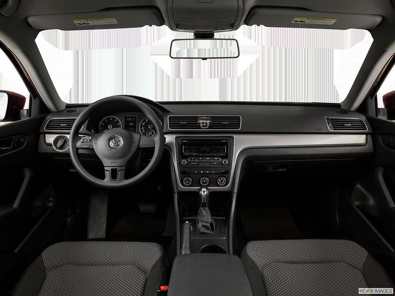 Interior View Of 2015 Volkswagen Passat in Franklin