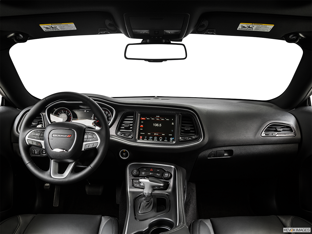 Interior View Of 2015 Dodge Challenger in Huntington Beach