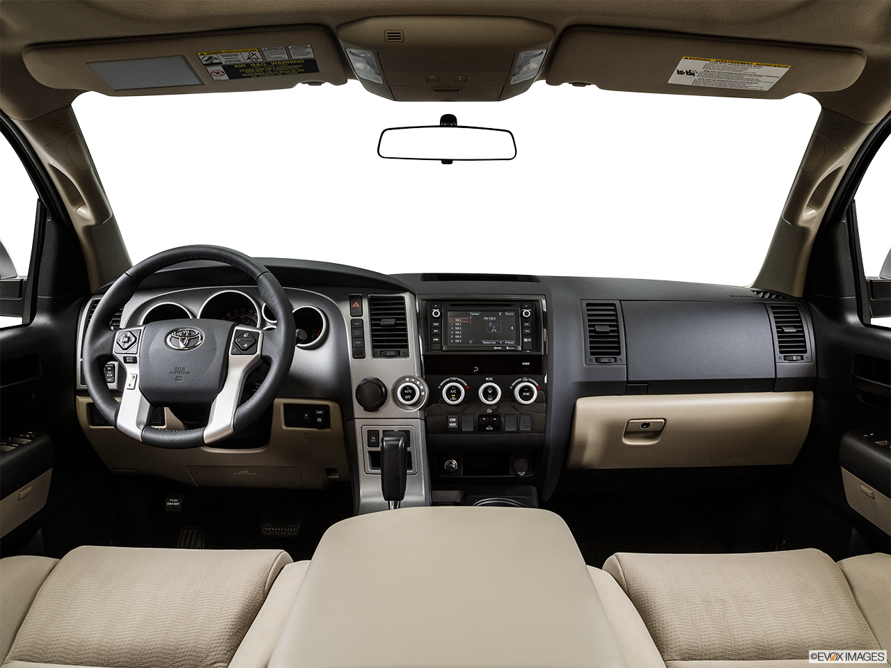 Interior View Of 2016 Toyota Sequoia in Los Angeles