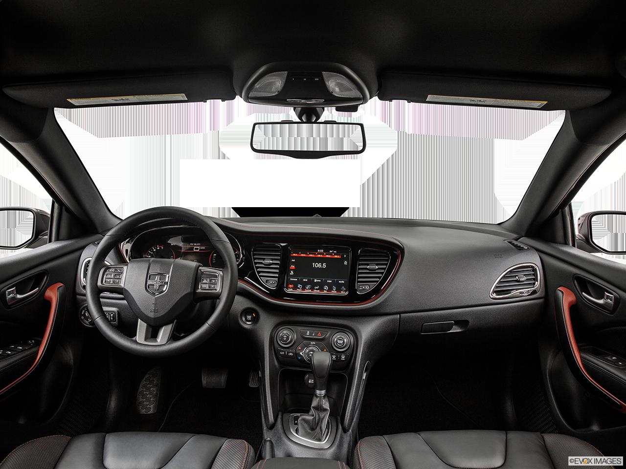 Interior View Of 2015 Dodge Dart in Huntington Beach