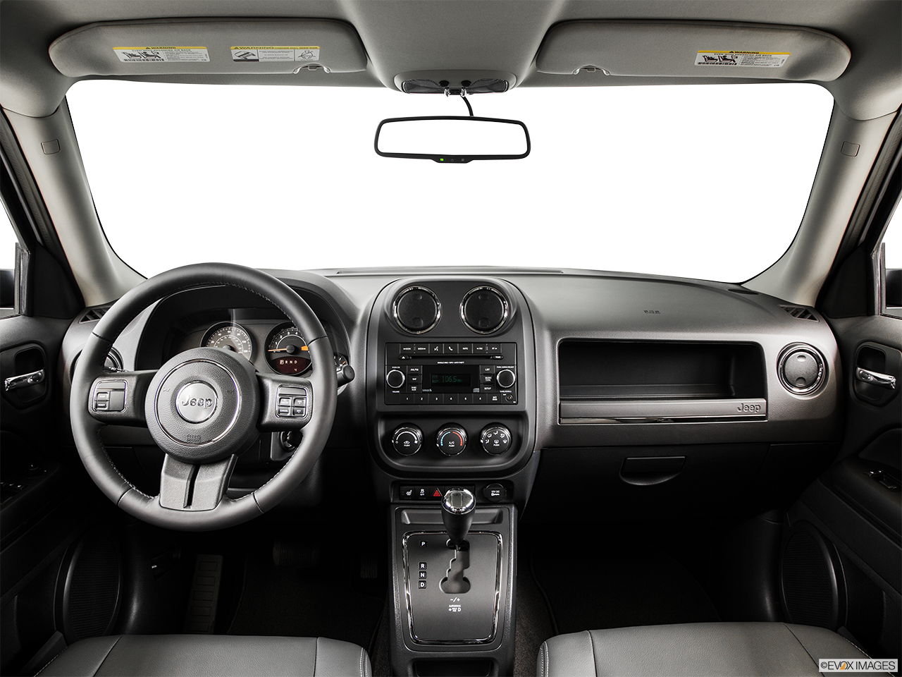 Interior View Of 2015 Jeep Patriot in Huntington Beach