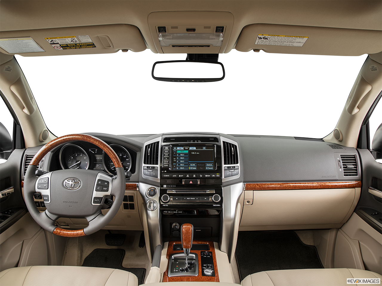 Interior View Of 2016 Toyota Landcruiser in Sacramento
