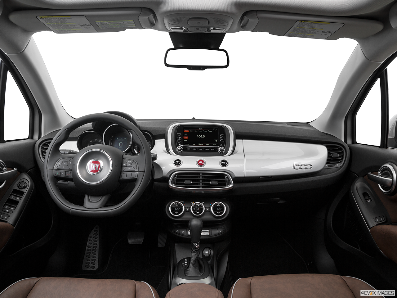 Interior View Of 2017 Fiat 500X in Birmingham