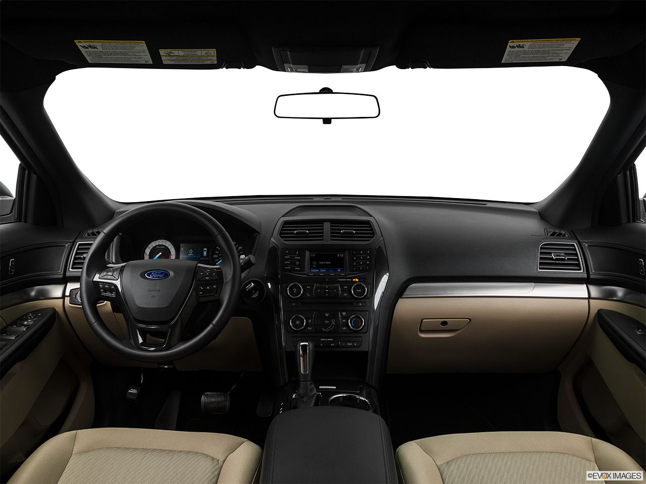 Interior View Of 2017 Ford Explorer in San Diego
