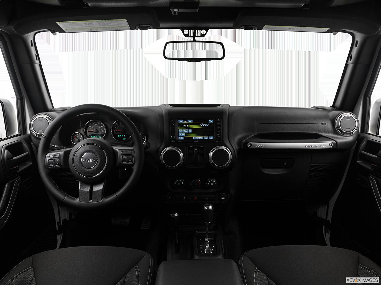 Interior View Of 2017 Jeep Wrangler in Atlanta