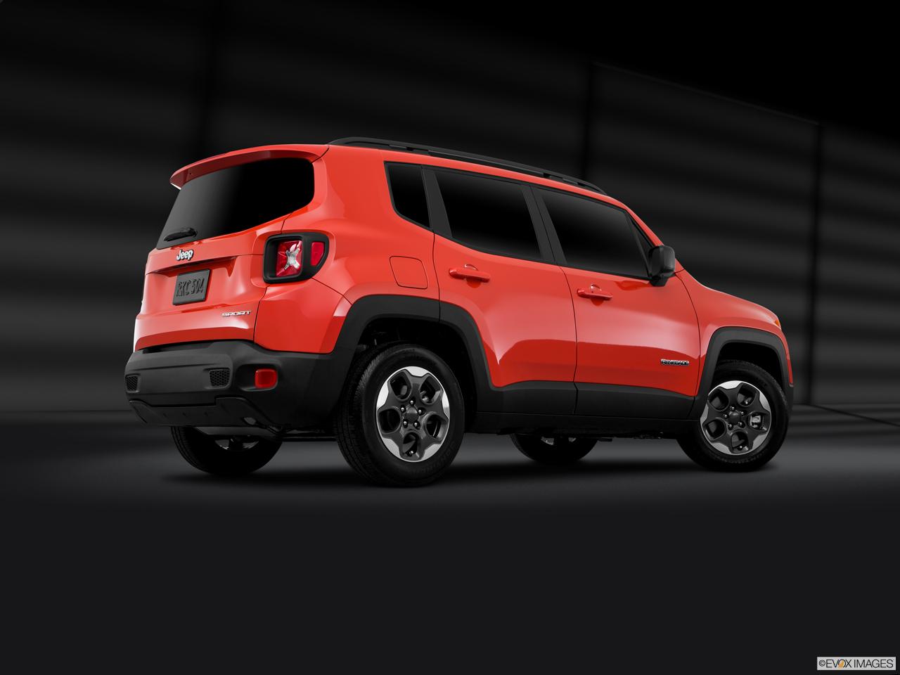 Exterior View Of 2017 Jeep Renegade in Atlanta