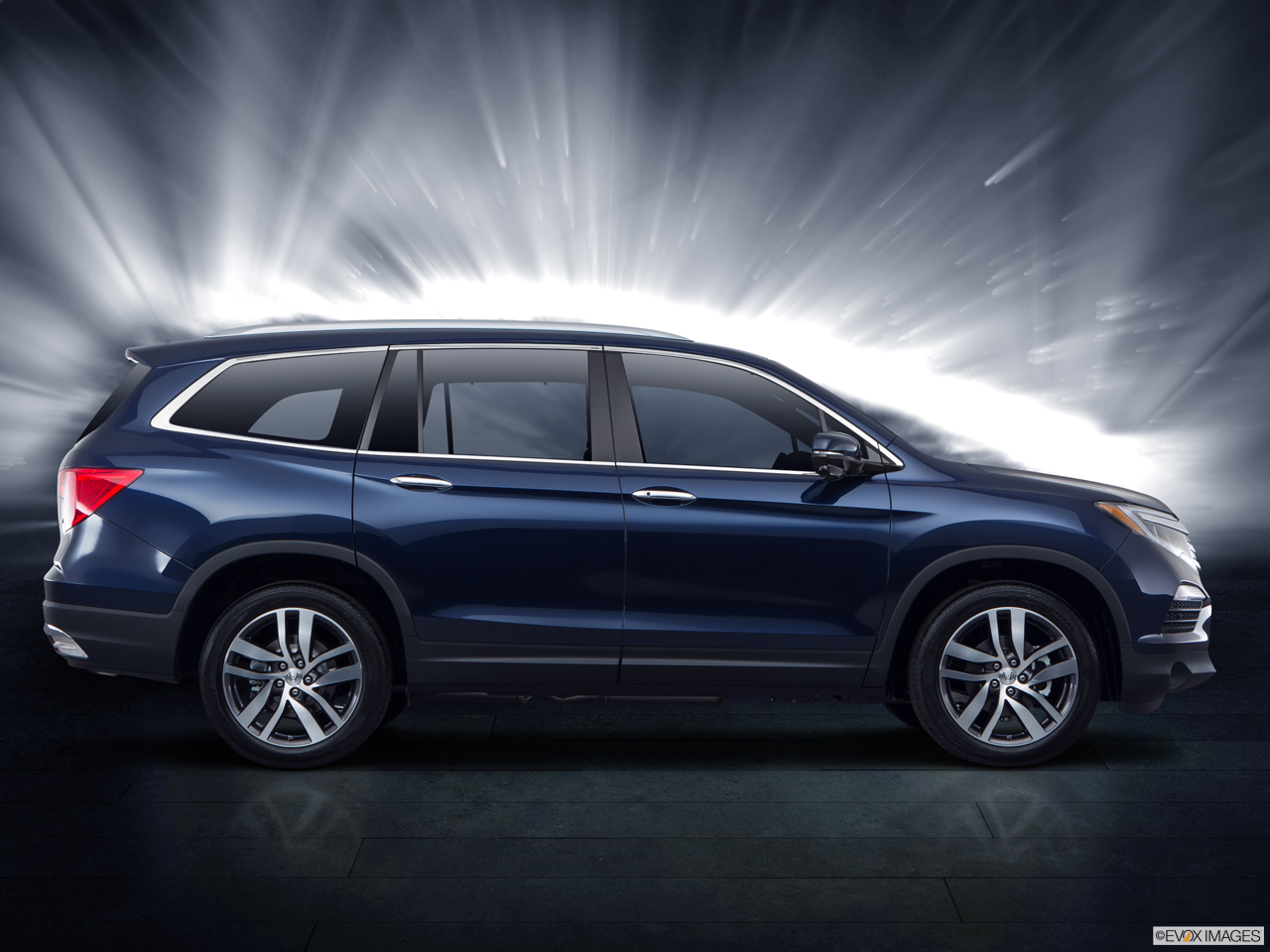 Exterior View Of 2017 Honda Pilot serving San Bernardino