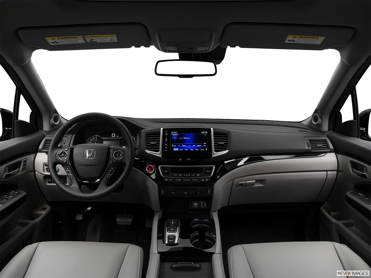 Interior View Of 2017 Honda Pilot serving San Bernardino