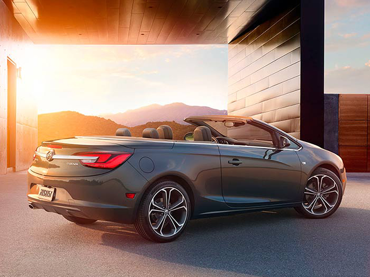 2016 buick cascada jackson buick serving decatur tuscola for Cascada exterior