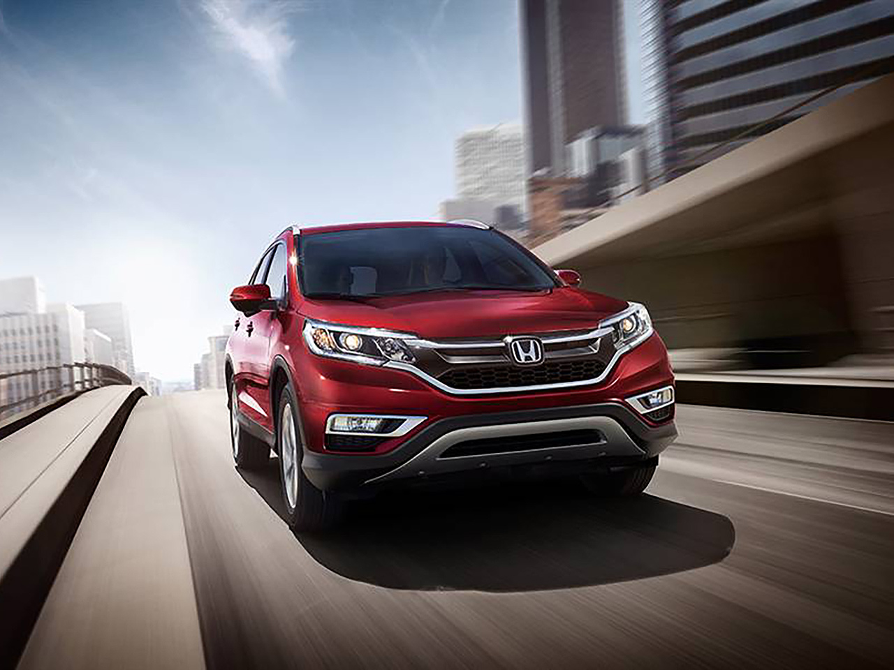 Exterior View Of 2016 Honda CR-V in Los Angeles