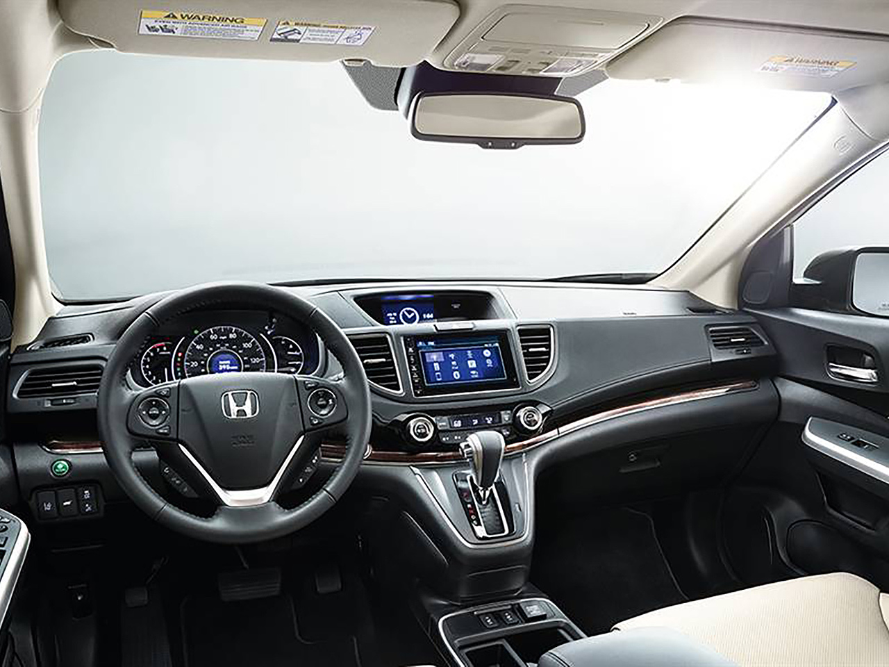 Interior View Of 2016 Honda CR-V in Los Angeles