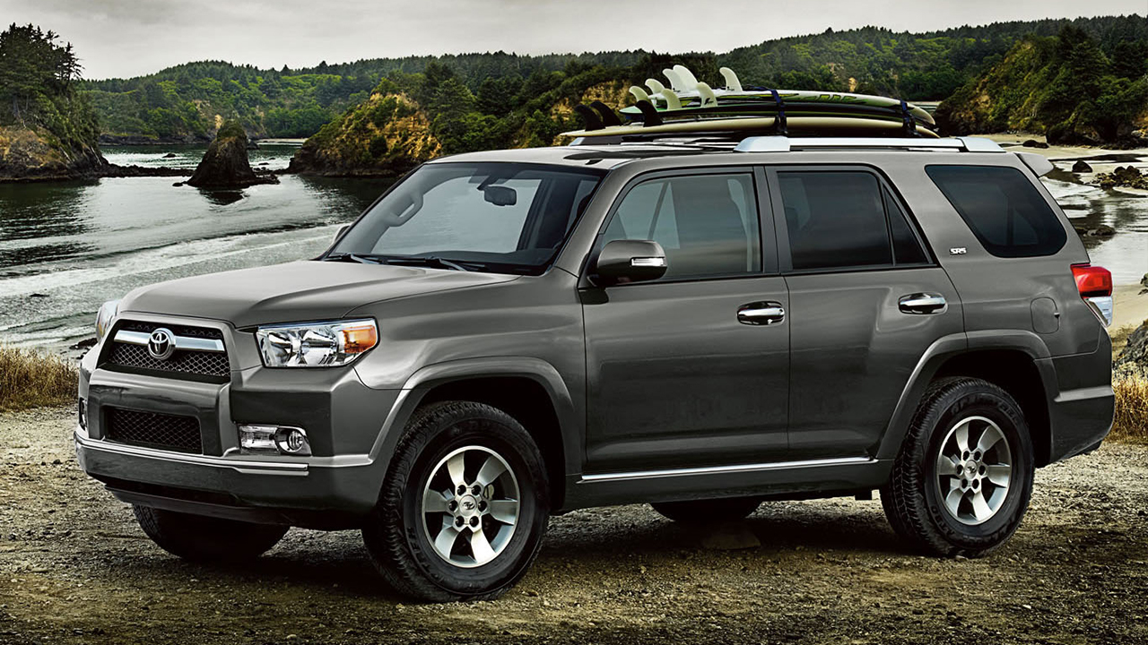 Exterior View Of 2016 Toyota 4Runner in Sacramento