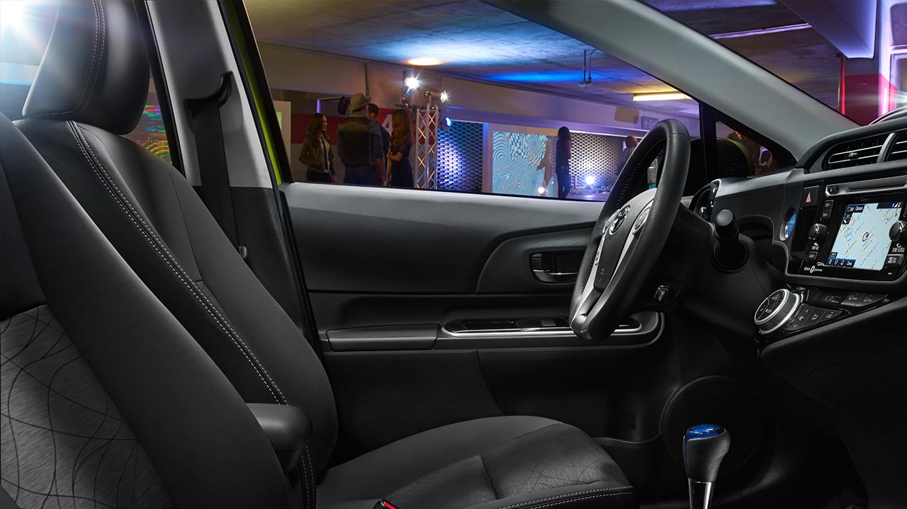 Alternative Interior View Of 2016 Toyota Prius c in Sacramento