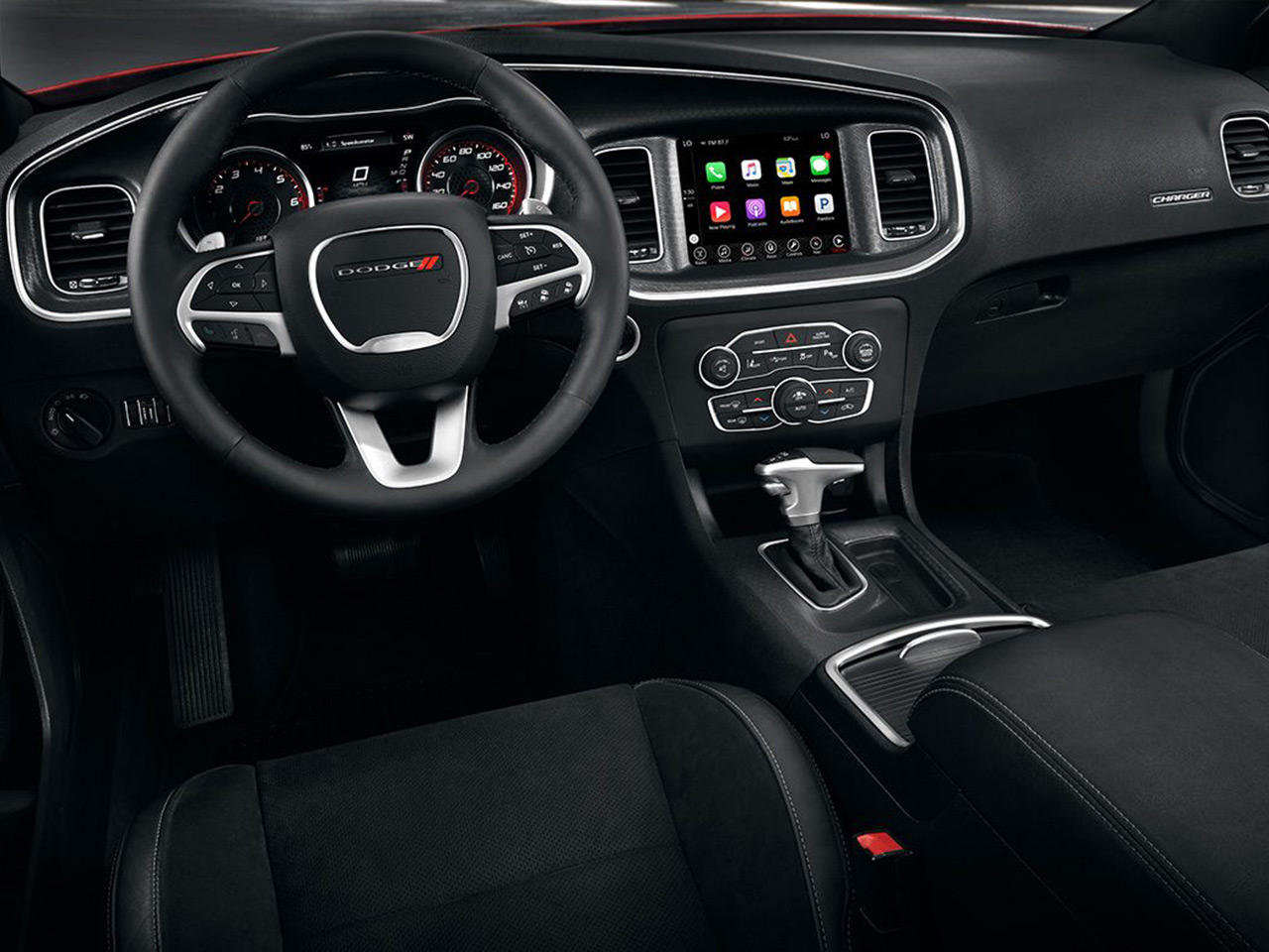 Interior View Of 2017 Dodge Charger in West Palm Beach