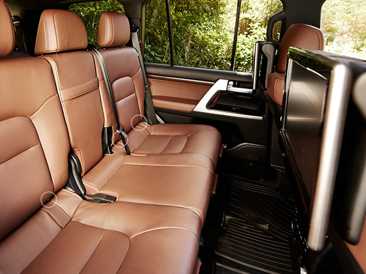 Interior View Of 2017 Toyota Land Cruiser near San Diego