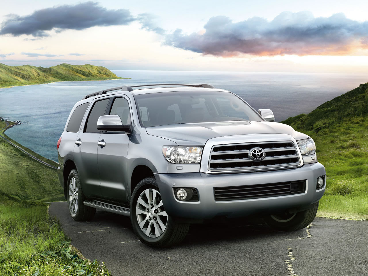 Exterior View Of 2017 Toyota Sequoia near San Diego