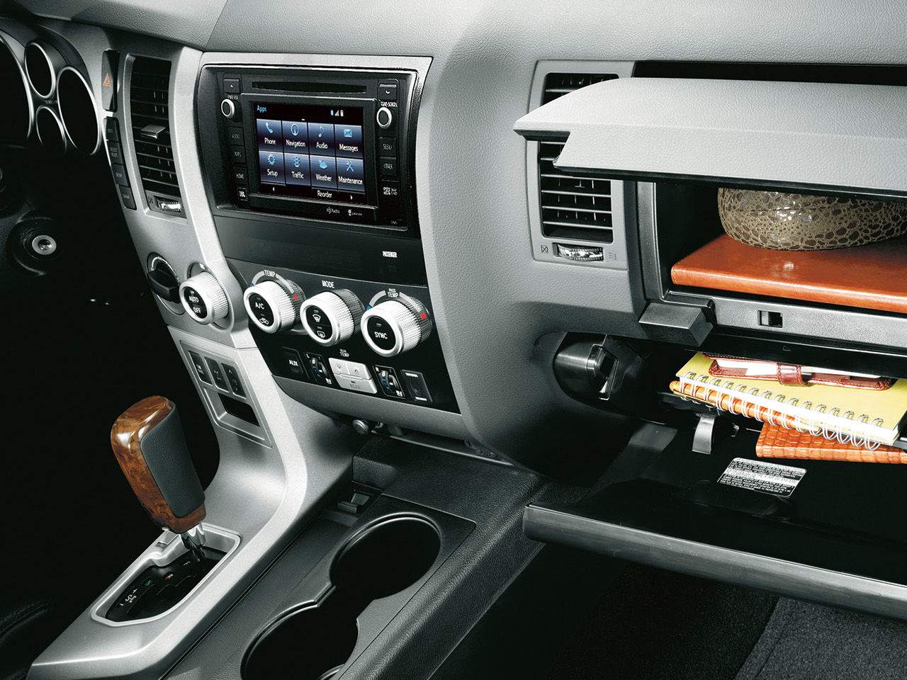 Interior View Of 2017 Toyota Sequoia near San Diego