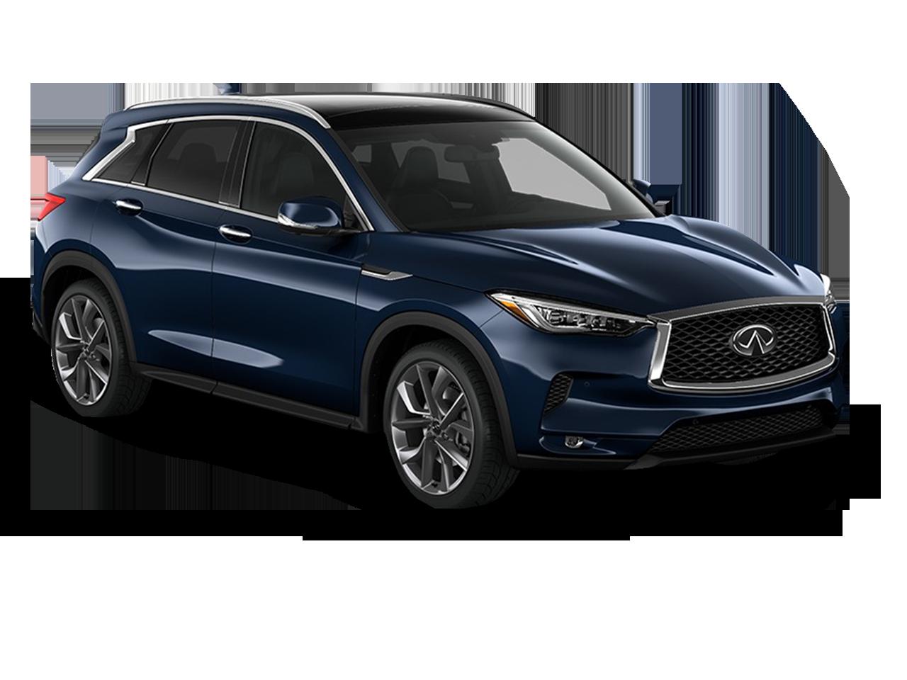Research The 2019 INFINITI QX50 AWD in Denver