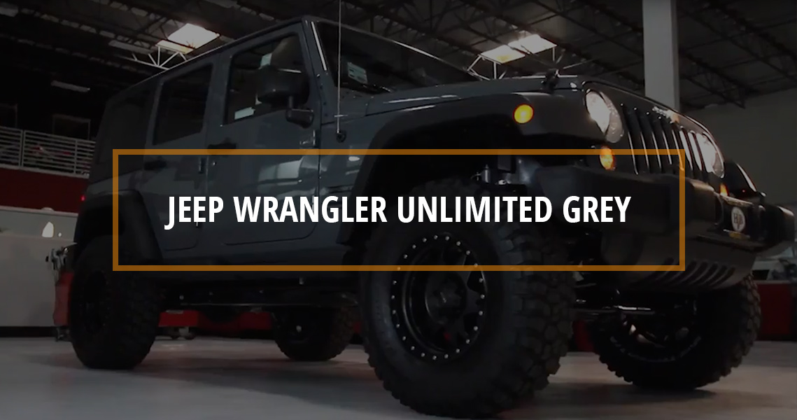 STOCK to ROCK Jeep Wrangler Unlimited Grey