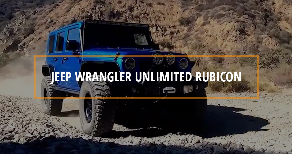 STOCK to ROCK Jeep Wrangler Unlimited Rubicon
