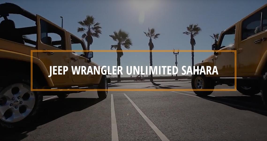 STOCK to ROCK Jeep Wrangler Unlimited Sahara