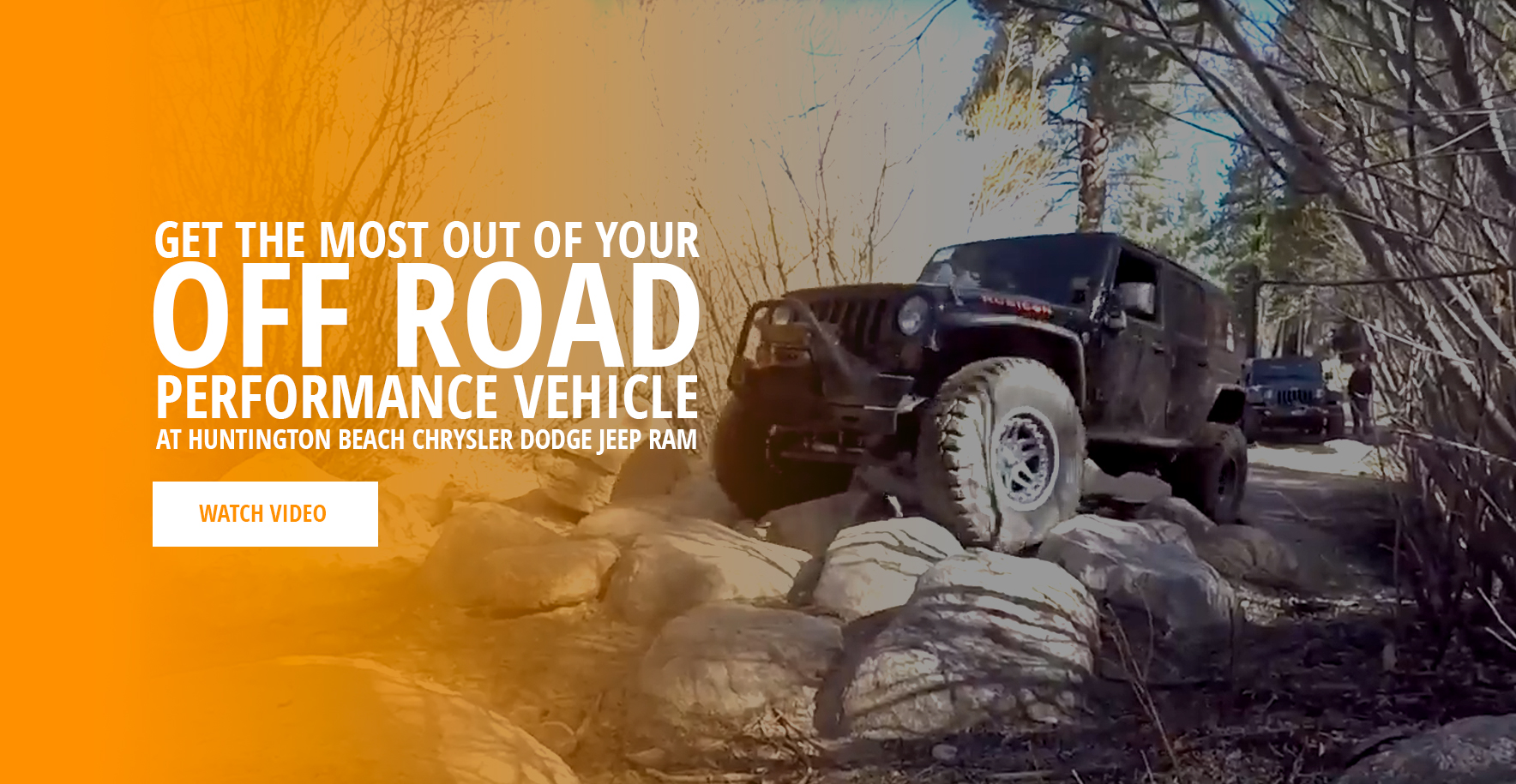 Get the Most Out of Your Off Road Performance Vehicle at Huntington Beach Chrysler Dodge Jeep RAM